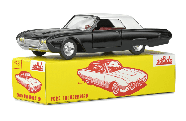 club solido series 100, club solido, ford thunderbird coupe 1:43