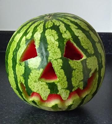 Summerween Jack-o-Melon