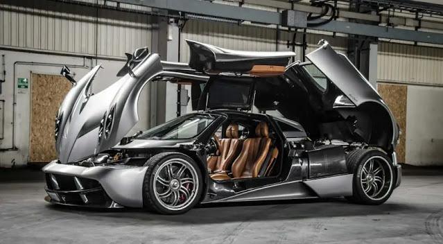 Beberapa Mobil Sport Termahal - Mobil Pagani Huayra