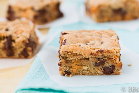 Chocolate & Butterscotch Chip Bars