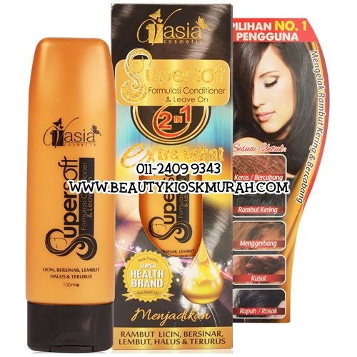 Supersoft Formulasi Conditioner & Leave On V'asia