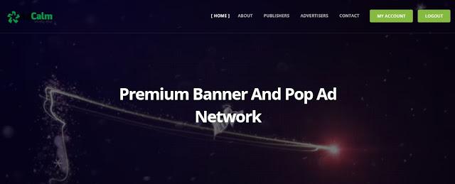 Review Adcalm - Ad Network Alternatif Adsense