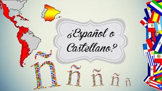 Español o castellano, cuál es mi idioma. Cuál idioma hablamos, castellano o español.