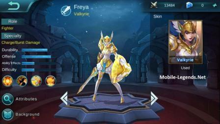 Hero Mobile Legends Freya