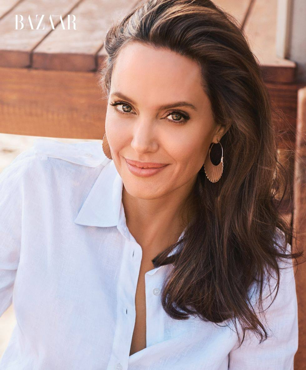 Harper's Bazaar US | November 2017 Angelina Jolie by Alexi Lubomirski