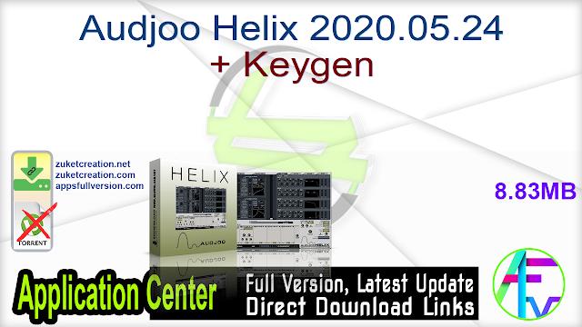 Audjoo Helix 2020.05.24 + Keygen