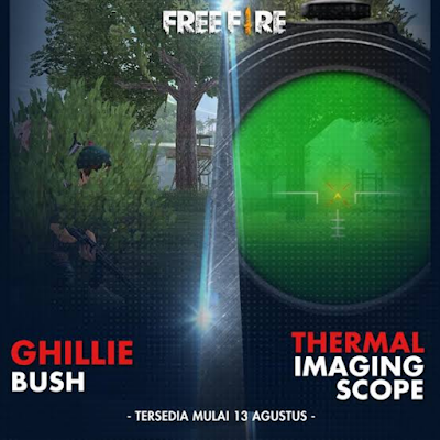 How the Thermal Scope works, when used, it seems that the enemy is red when seen in the scope