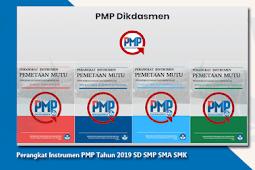 Download Perangkat Instrumen PMP Tahun 2019 Untuk SD SMP SMA SMK Lengkap