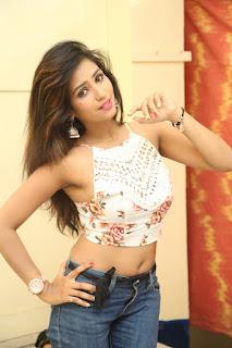 Deekshita Parvathi in a short crop top and Denim Jeans Spicy Pics Beautiful Actress Deekshita Parvathi January 2017 CelebxNext (150).JPG