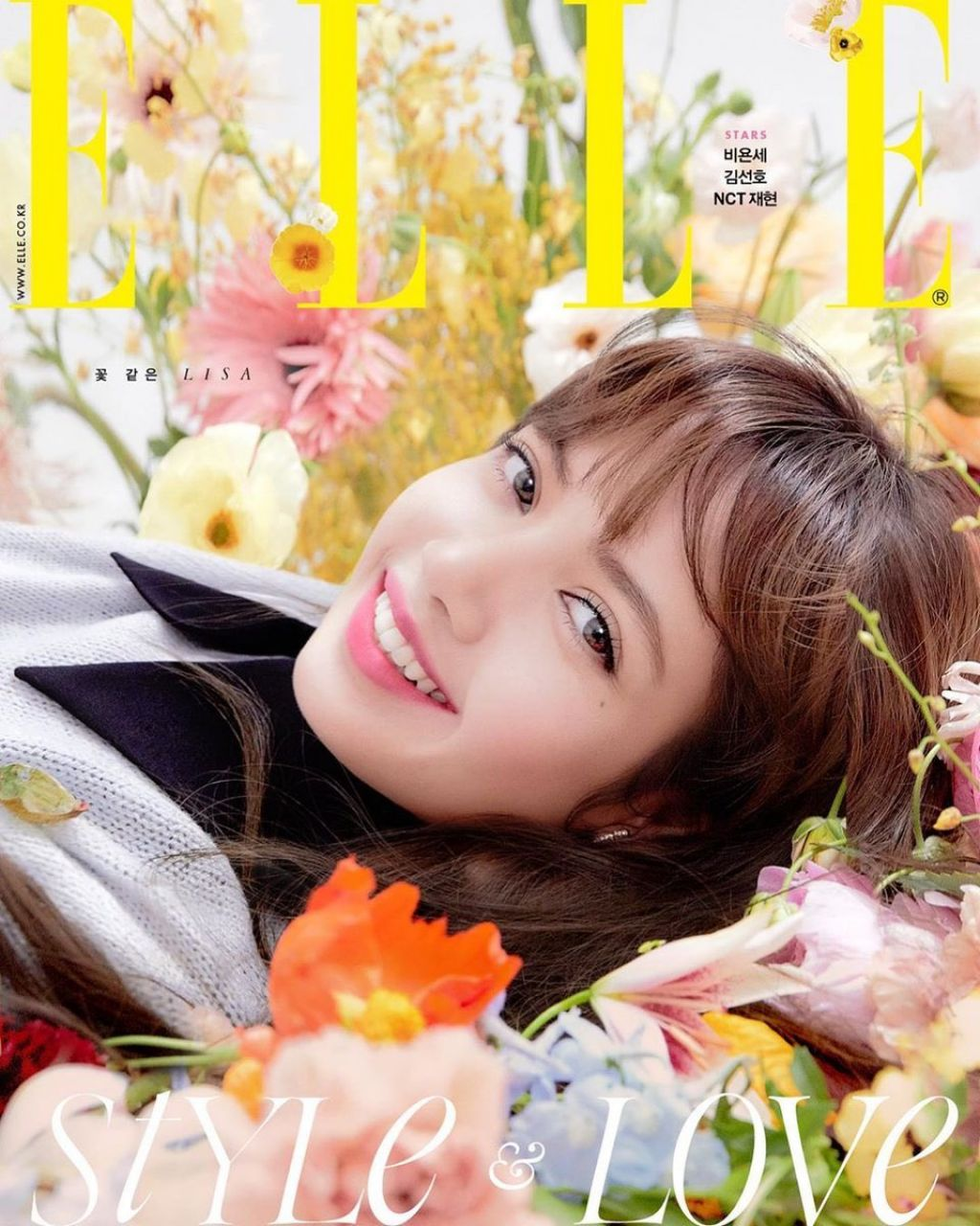 Lisa – ELLE Korea February 2020 Issue