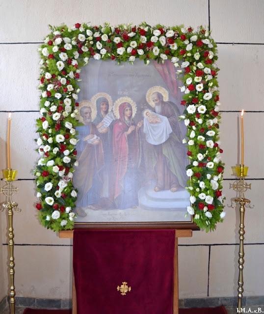 ИПЦ Греции: Праздник Сретения в Маркопуло (Аттика). ФОТО