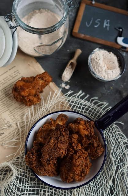 kfc,skrzydelka,obiad,kurczak,kulinarny pamietnik,fastfood,