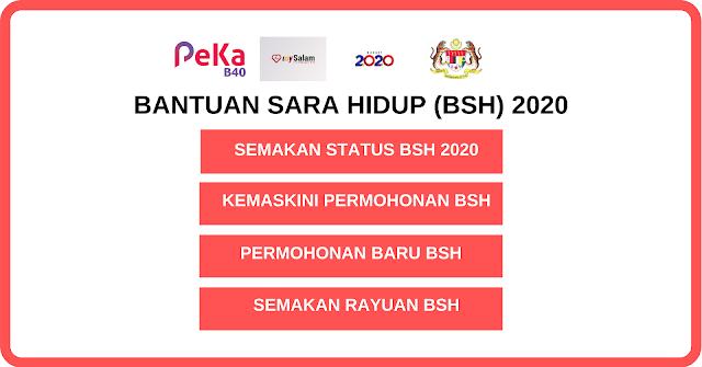 Bsh 2020 Semakan Status Permohonan Bantuan Sara Hidup Januari