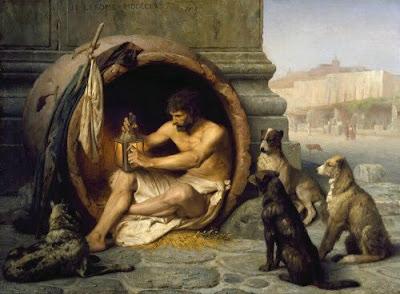 ديوجين الكلبي الفيلسوف الذي عاش داخل البرميل