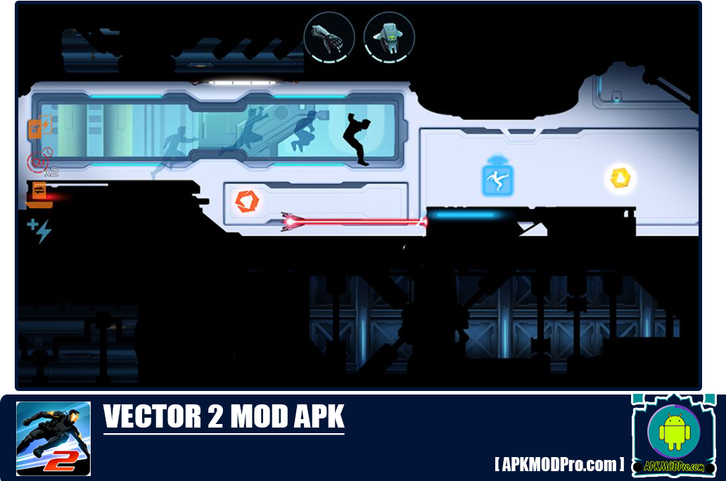 Download Vector 2 Premium MOD APK 1.1.1 (Unlimited money) Terbaru 2020