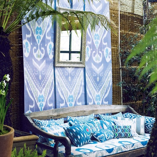 From Bali With Love: Ikat & A Balinese Daybed (From Bali