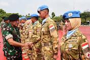 Negara Sangat Menghargai Keberhasilan Satgas RDB TNI Konga XXXIX-A MONUSCO