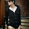 fashion cowok fashioncowok Korean Hooded Jacket Style