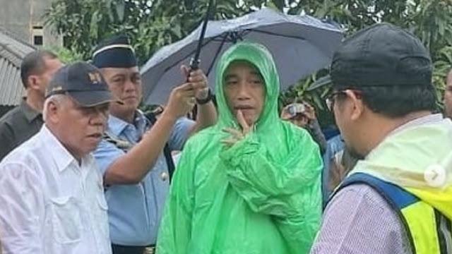 Banjir Kalsel gegara Hujan? RG: Masak Pak Jokowi Sarjana Kehutanan Gak Ngerti Fungsi Pohon