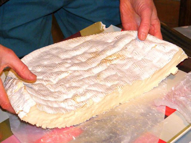 Brie de Meaux. Photo by Loire Valley Time Travel.