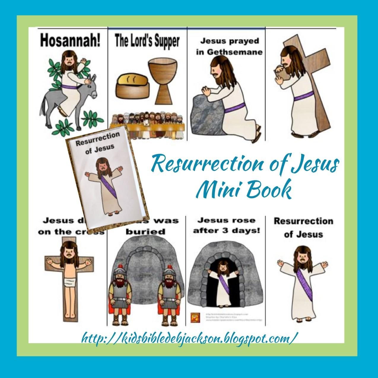 Bible Fun For Kids: The Resurrection of Jesus
