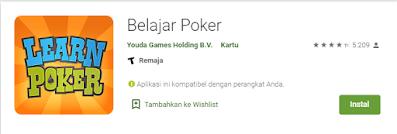 Aplikasi Belajar Texas Hold'm Poker Android