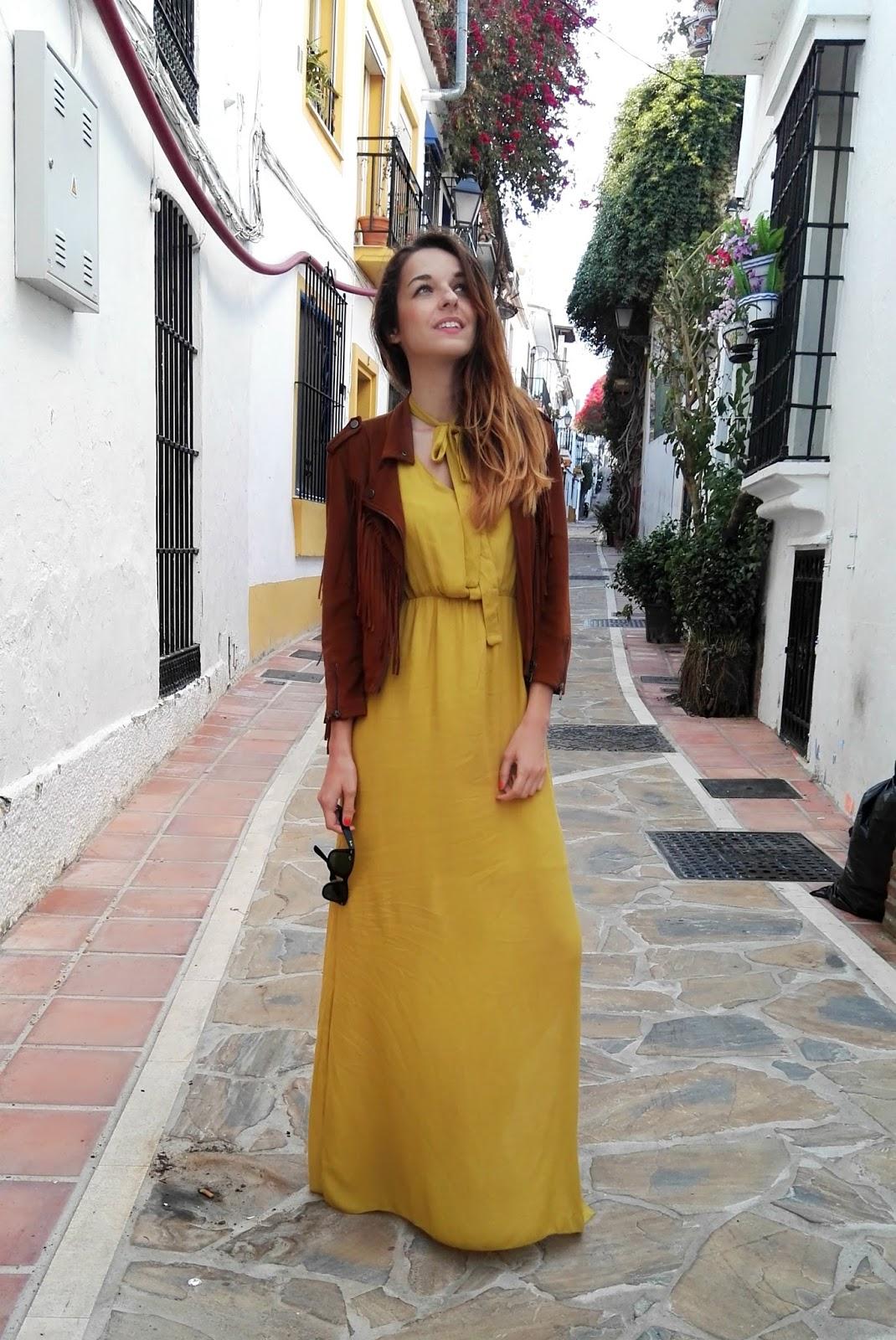 5d6bea147c7 – De Vestido Amarillo Vestidos Largo Chaqueta Noche wqXHtxU7qP