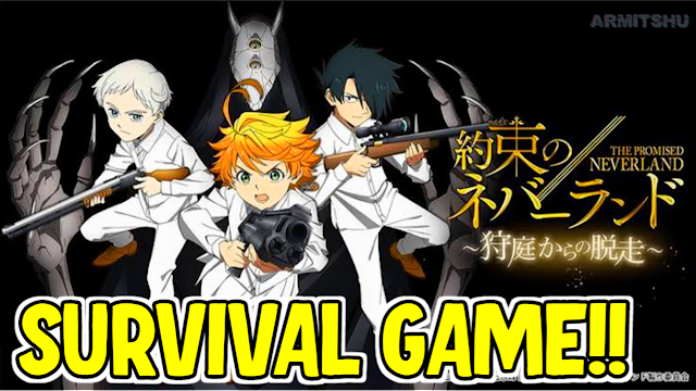 The Promised Neverland: Escape From Hunting Garden