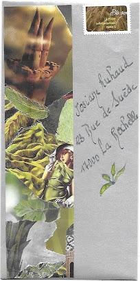 pour Josiane, du vert pour rafraîchirle temps et  nos pensées