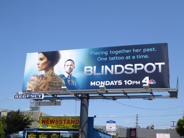 Blindspot series premiere billboard