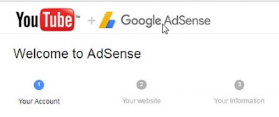 Create adsense account without website