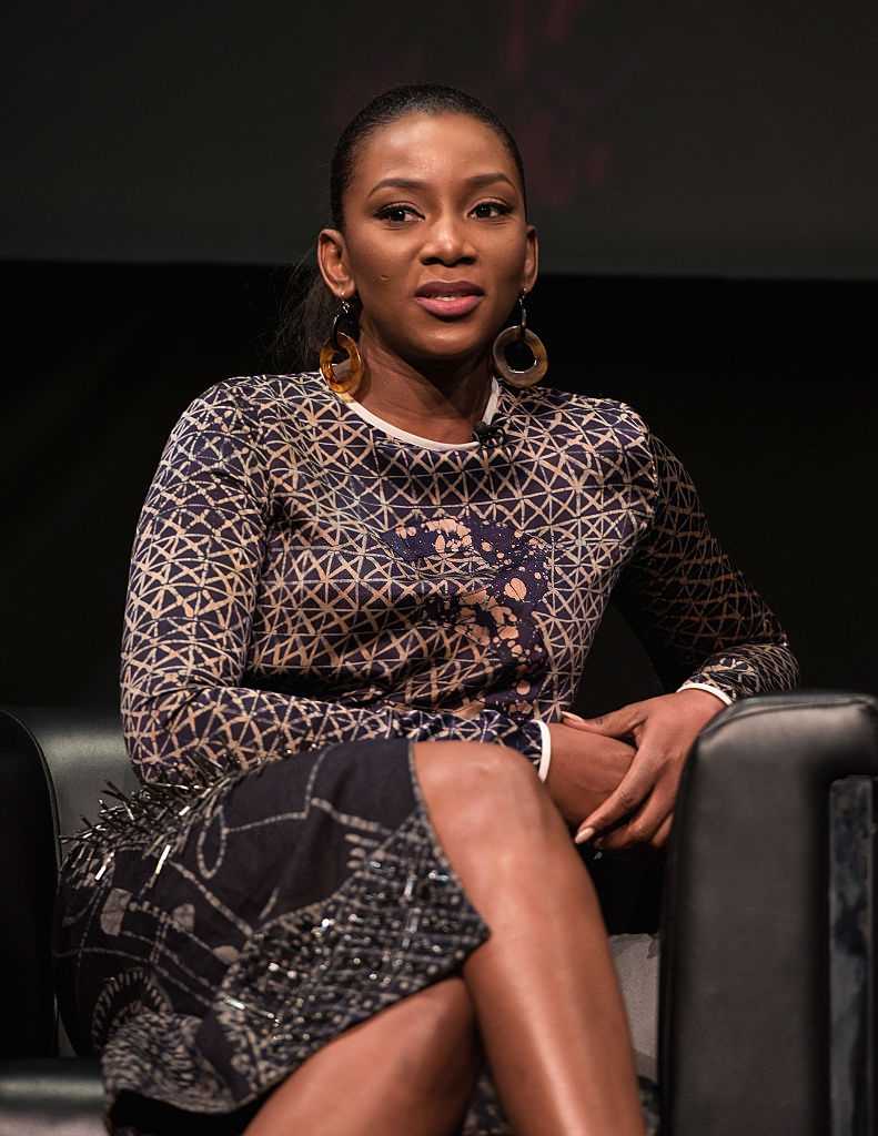 Actress/singer Genevieve Nnaji discusses Nigeria's film industry and the international rise of Nollywood at the 2016 Toronto International Film Festival at Glenn Gould Studio at CBC on September 11, 2016 in Toronto, Canada. (Photo by Tara Ziemba/Getty Images)