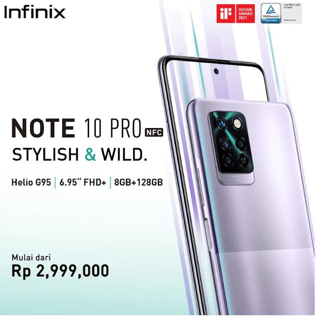 harga Infinix Note 10 Pro