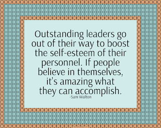 Outstanding leaders quote by Sam Walton
