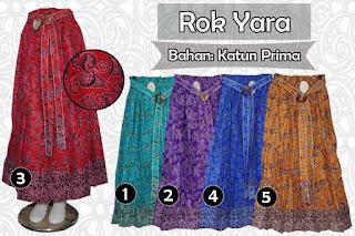 Rok batik modern pekalongan model payung terbaru nan cantik