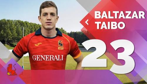 Baltazar Taibo jugará para España