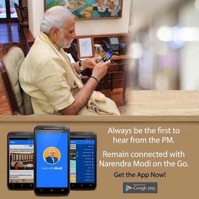Narendra Modi App – Connect with the PM