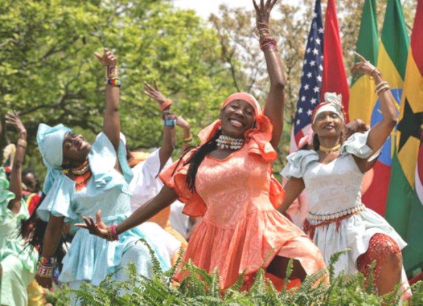 Sub-Saharan Africa Dance