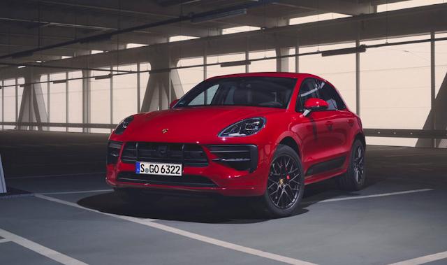 Porsche Macan lineup with 380 hp