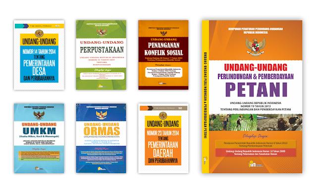 Buku Hukum dan Perundangan Untuk Koleksi Perpustakaan Desa