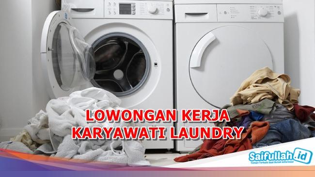 Lowongan Kerja Karyawati Laundry Desa Kapur Pontianak