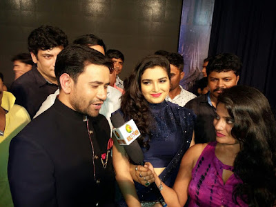 Amrapali Dubey and Dinesh Lal Yadav photos of Sabrang Samaroh Film Award