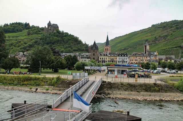 Middle Rhine River Germany geology cruise trip Bacharach castles history Remagen UNESCO world heritage area copyright RocDocTravel.com