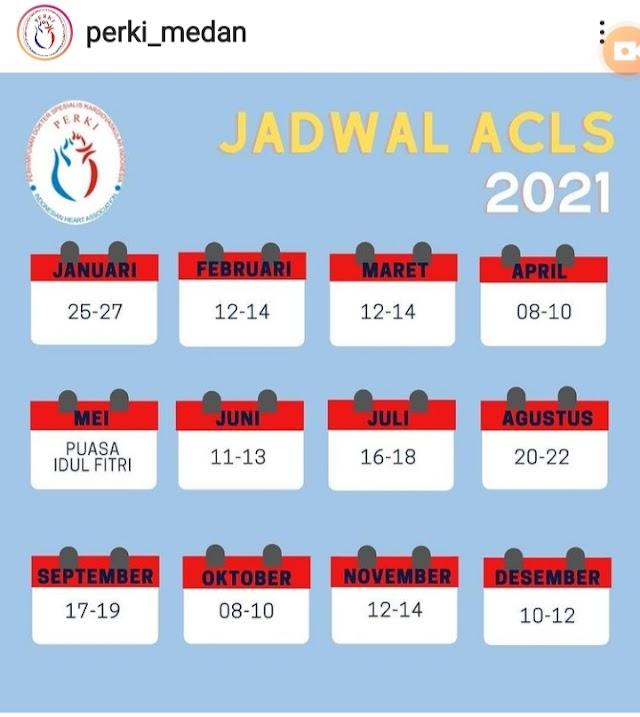Pelatihan ACLS 2021 PERKI MEDAN