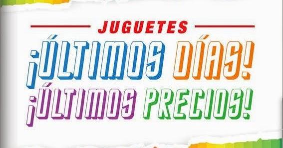 Alcampo Juguetes Diciembre 2014 Ofertas De AR54jL