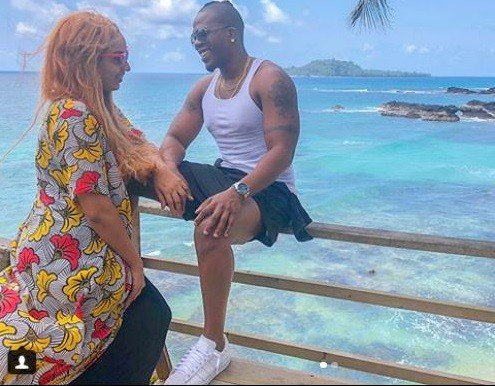 Photos: Iceberg Slim and Juliet Ibrahim baecation in São Tomé island for her birthday