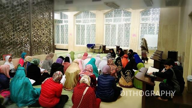 pengajian mbak-mbak TKW di Masjid Ammar daerah Wan Chai