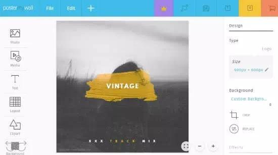 Cara membuat logo vintage secara online-3