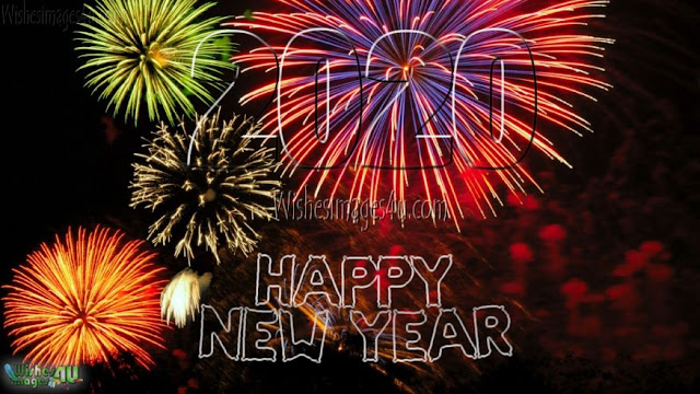 Happy New Year 2020 Fireworks 4K Images Download - Happy New Year 2020 Fireworks Ultra HD Photos Pictures Download Free