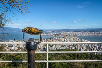 linda vista do estado de Santa Catarina